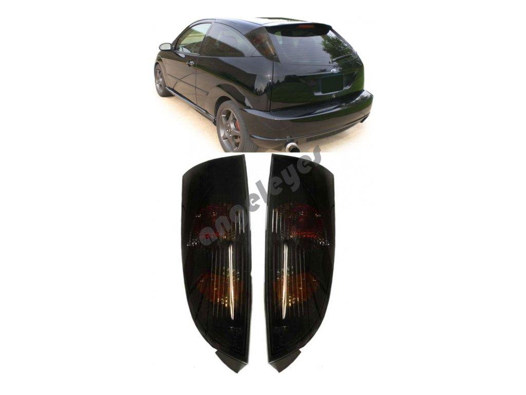 Zadné svetlá Ford Focus čierne zatmavené