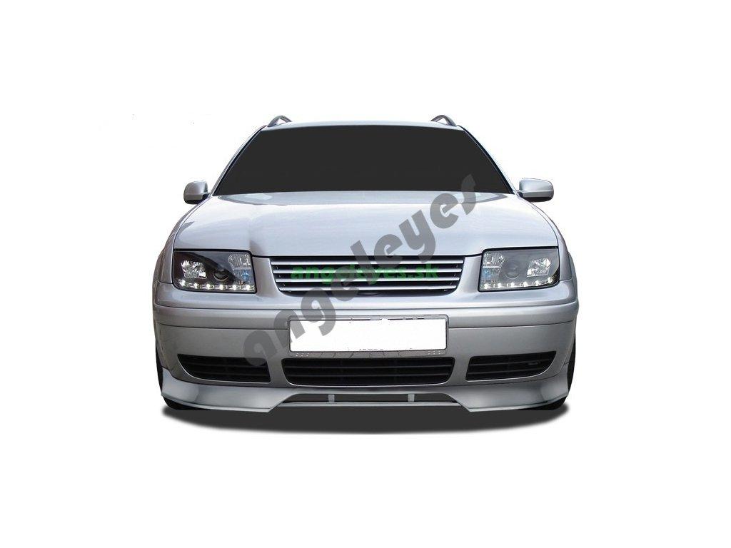 VW Bora predný plastový spojler, rv. 99-05