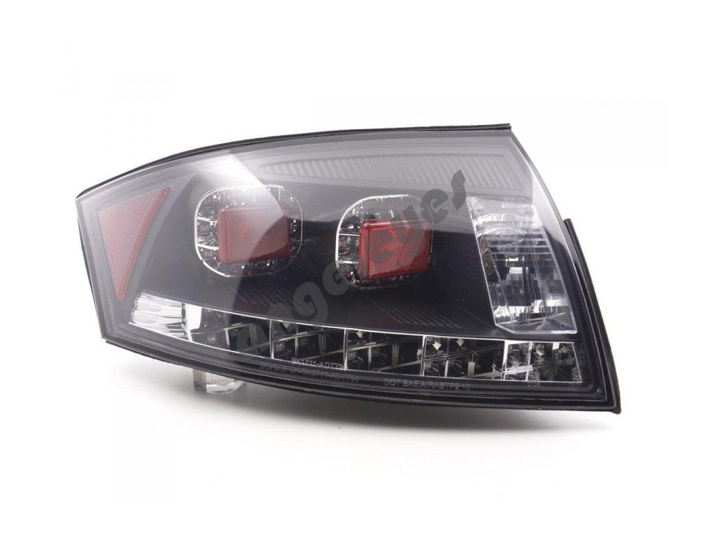 Zadné LED svetlá Audi TT čierne
