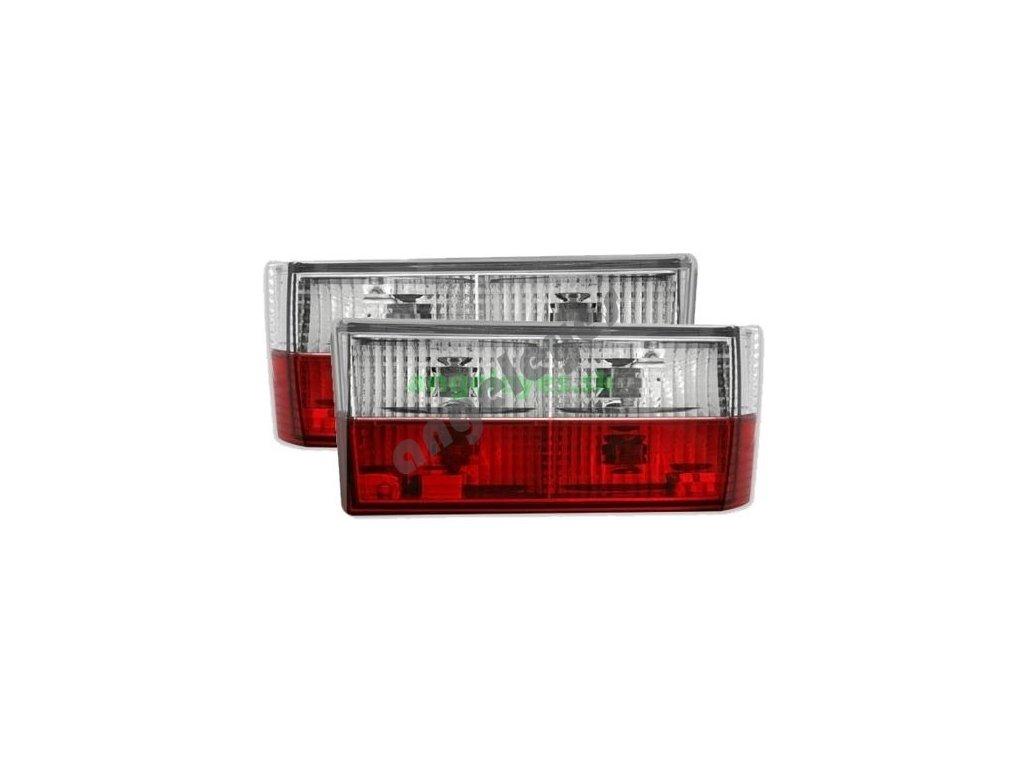 VW Golf 1 zadné svetlá červeno biele