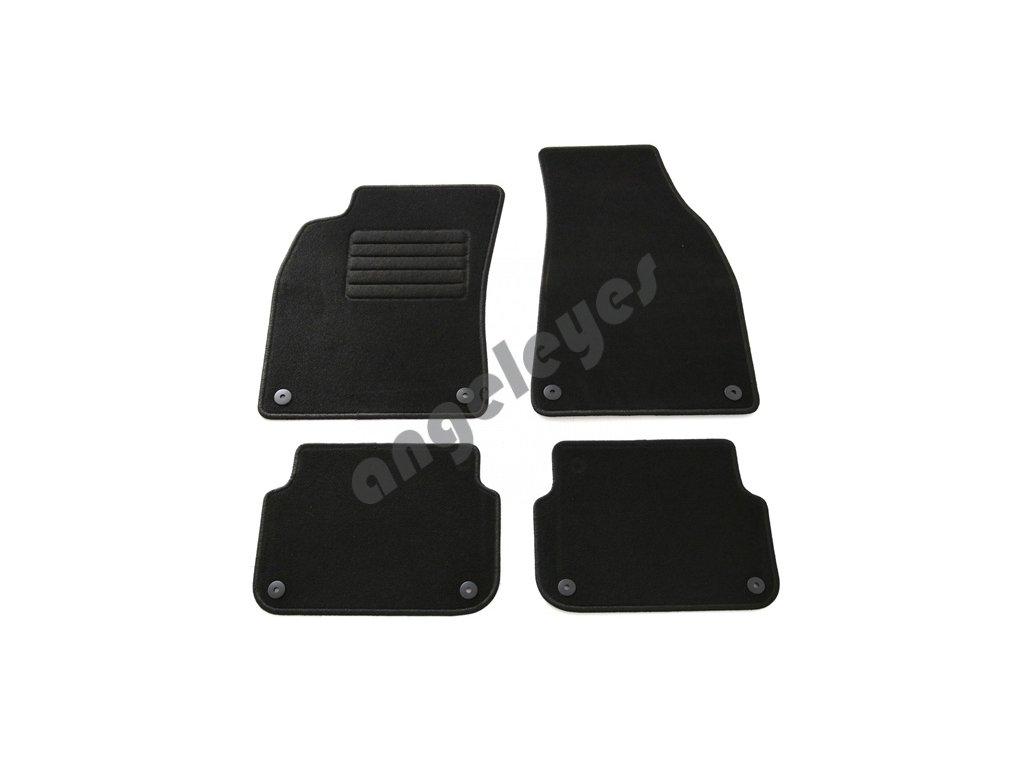 Čierne koberce Audi A6