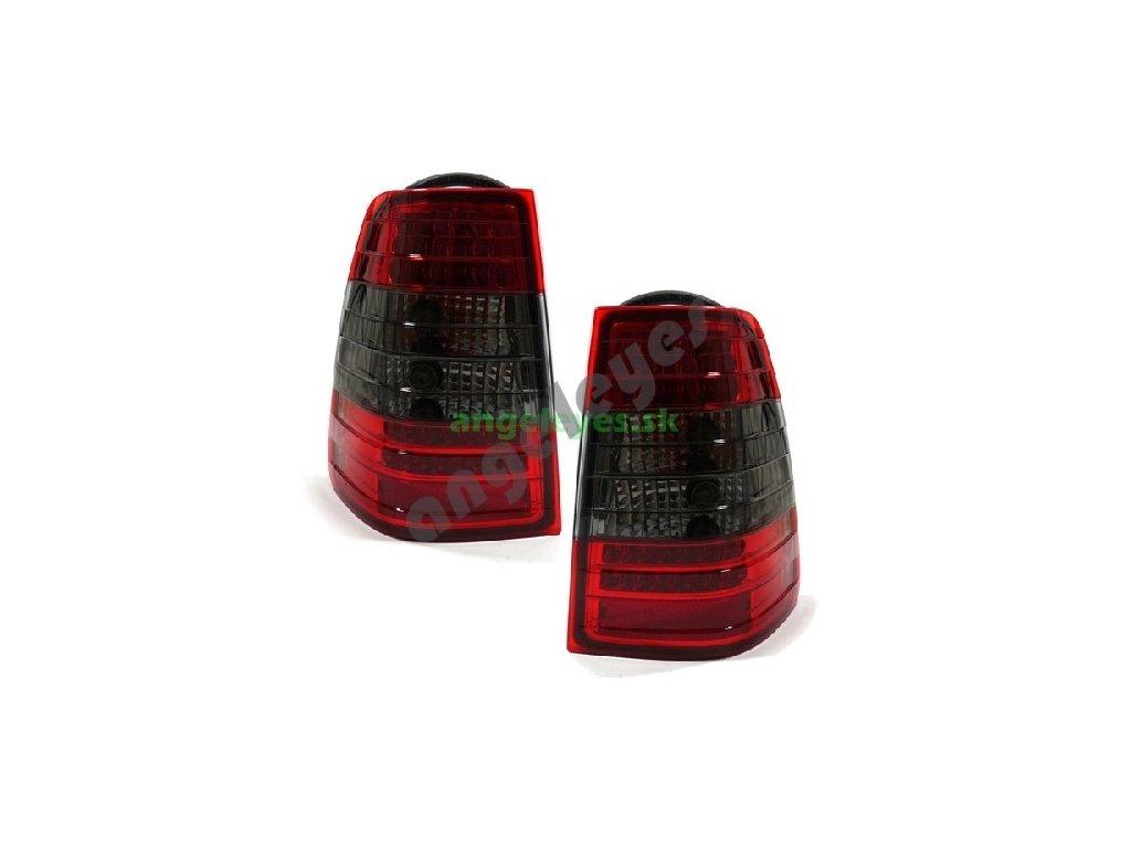 Mercedes W124 T Kombi zadne LED červeno - čierne svetla, rv....