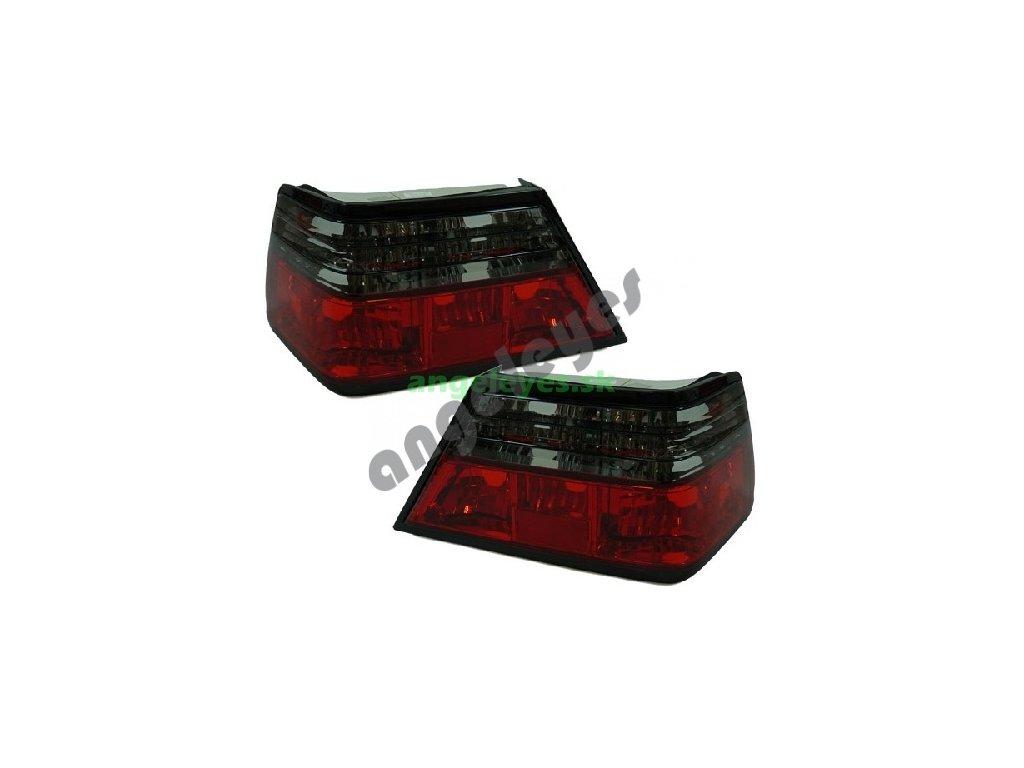 Mercedes W124 zadne červeno - sede svetla, rv. 85-95