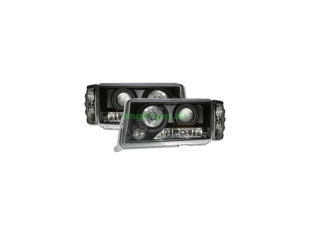 MB W201 190 rv 83-93 predne čierne svetlá aj so smerovkami