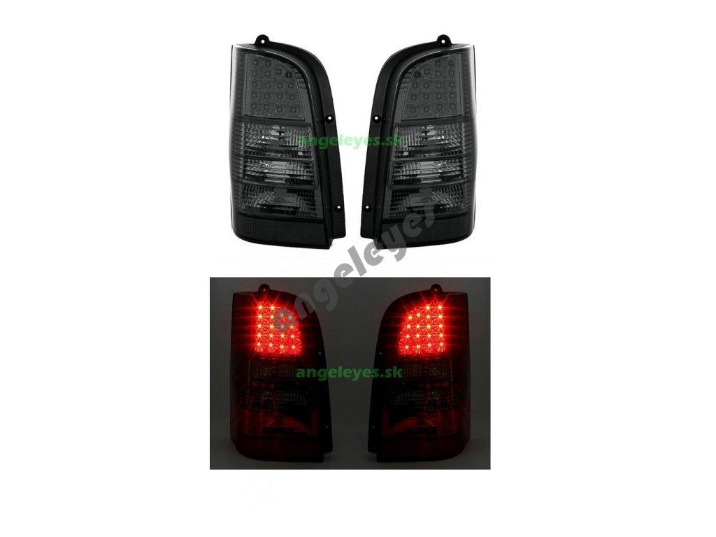 Mercedes Vito zadné LED svetlá číre zatmavené 2/96 - 7/03