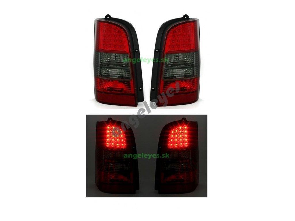 Mercedes Vito zadné LED svetlá červeno-zatmavené 2/96 - 7/03