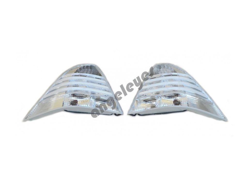 Zadné svetlá biele s LED pre Mercedes S Klasse W220