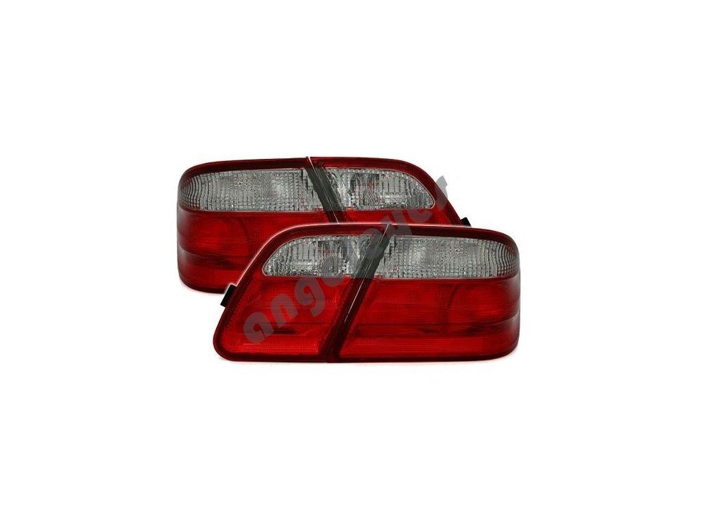 Zadné svetlá červeno-biele pre E W210