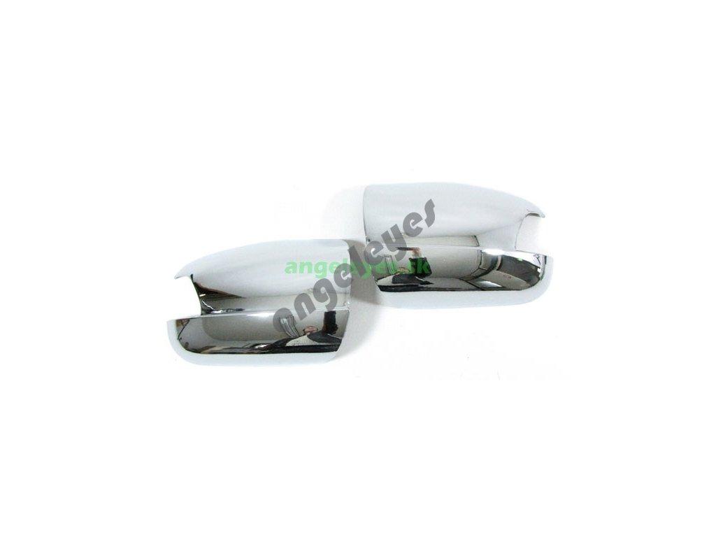 Chrómové kryty zrkadiel pre W210 rv.99-02