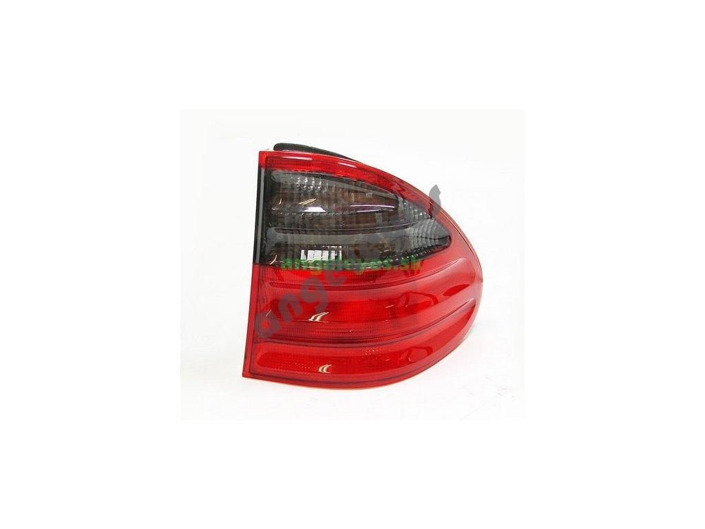 Mercedes E W210 T Kombi zadné pravé vonkajšie červeno -...