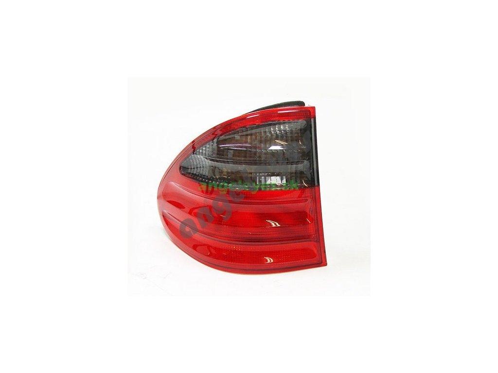 Mercedes E W210 T Kombi zadné ľavé vonkajšie červeno - čierne...