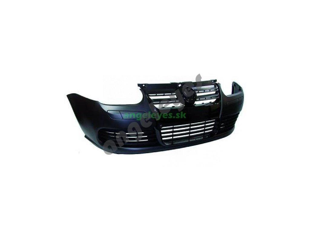 Golf 4 predný plastový nárazník s čiernou maskou