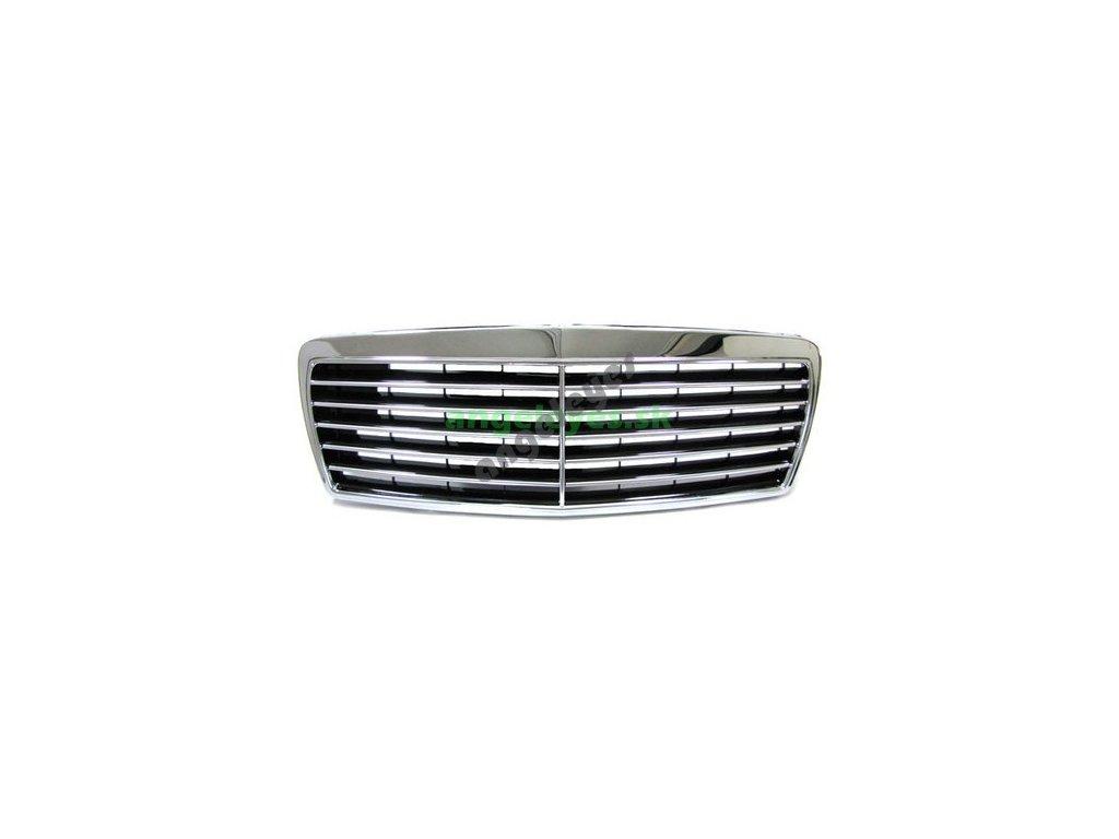 Mercedes E W210 predná maska Avantgarde s okrajmi, od rv. 7/99