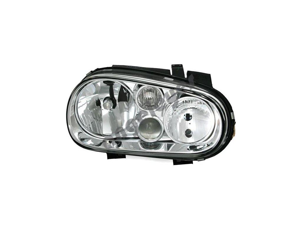 Predné pravé svetlo s hmlovkou pre VW Golf 4 H7/H1/H3