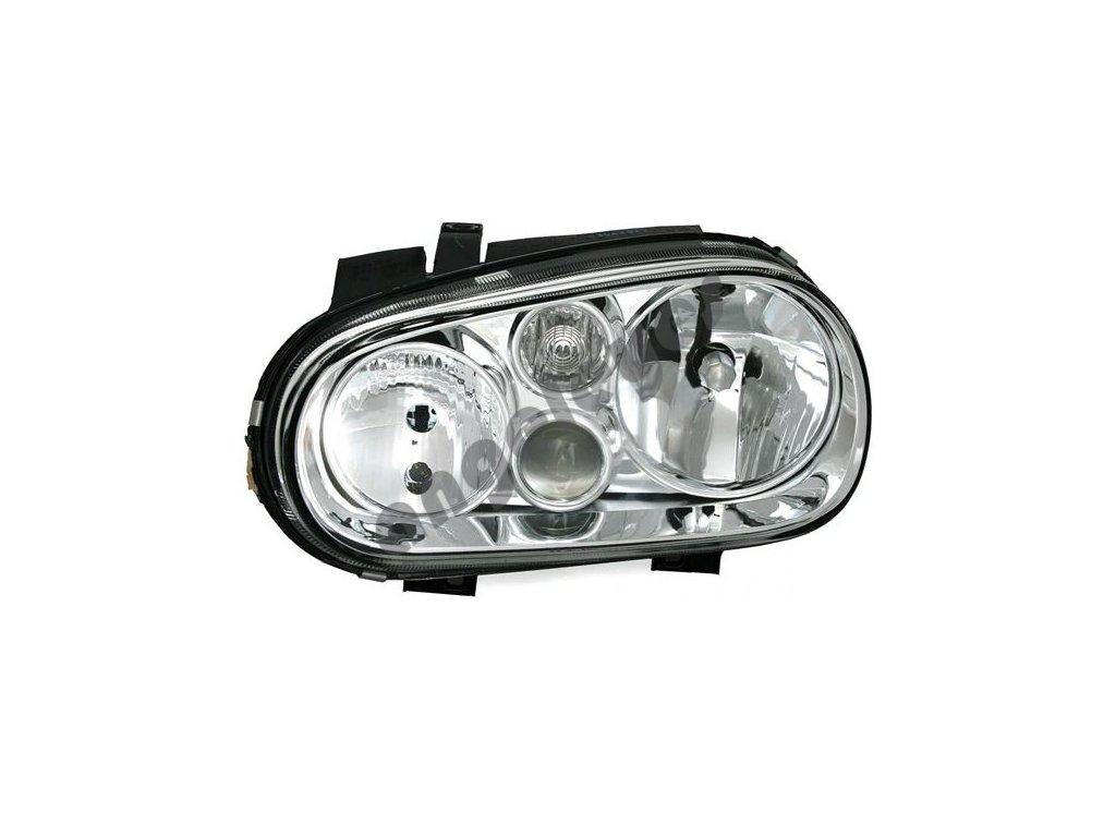 Predné ľavé svetlo s hmlovkou pre VW Golf 4 H7/H1/H3
