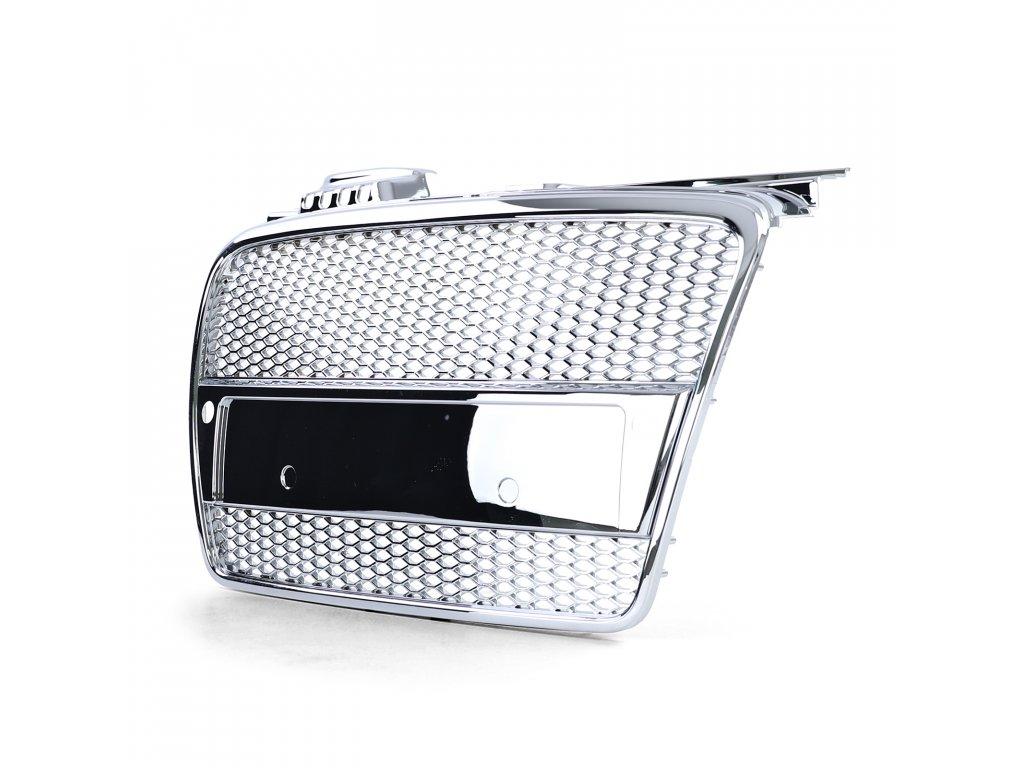 Audi A4 B7 čierna maska s otvormi pre PDC