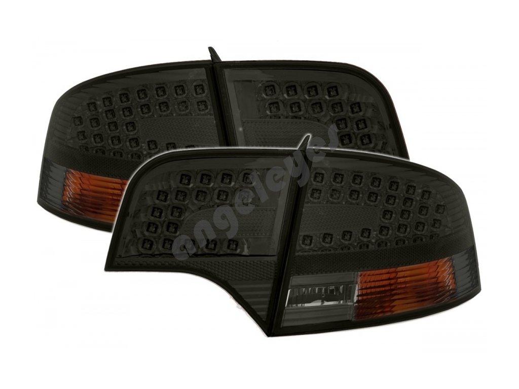 Zadné svetlá Audi A4 limuzína zatmavené