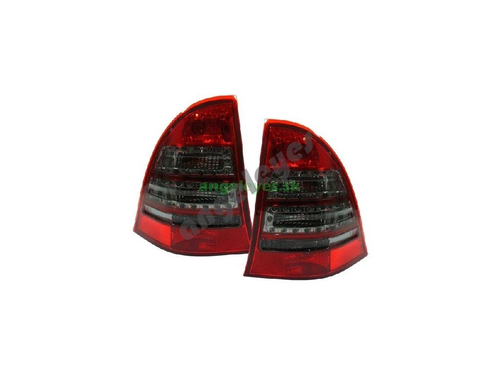 Mercedes W203 C Kombi zadne, červeno - čierne svetlá, rv. 00-04