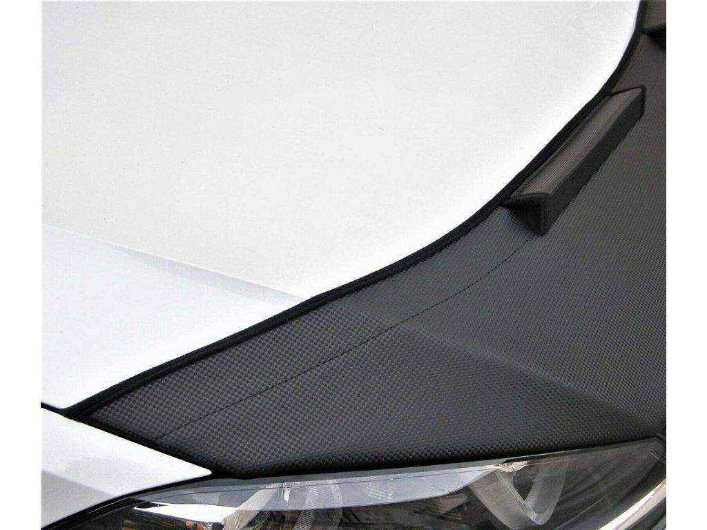 VW Golf 4 kožený kryt kapoty čierny alebo carbónový