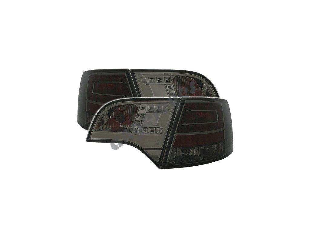 Audi A4 Avant zadné LED čierne svetlá, rv. 04-08
