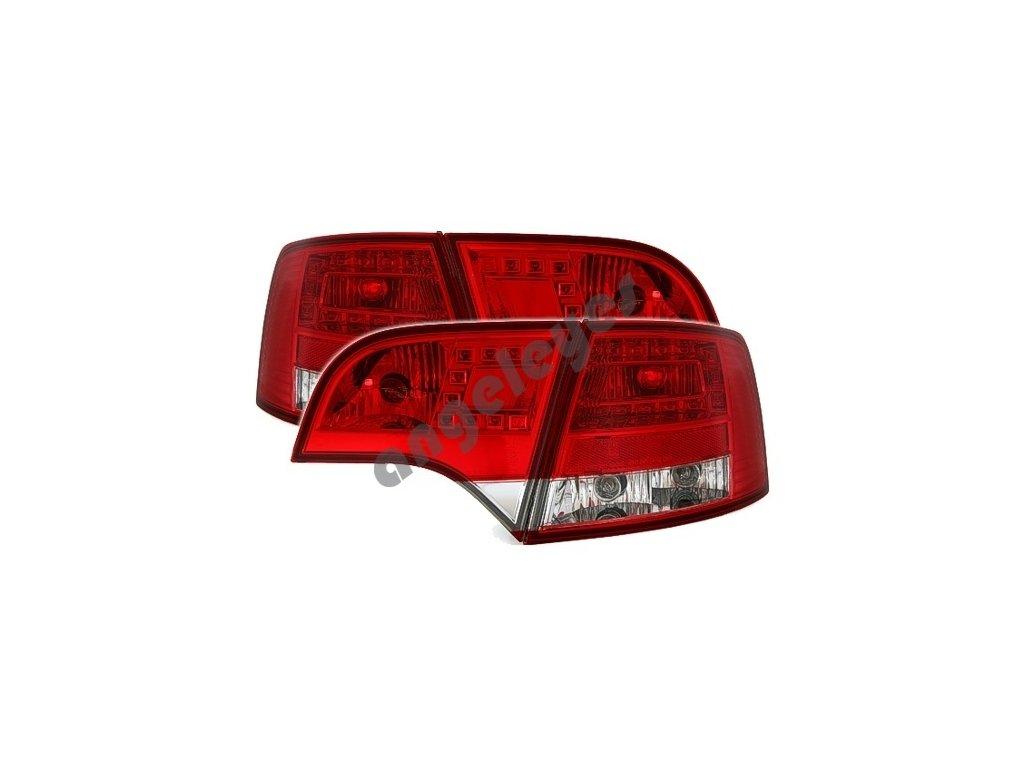 Audi A4 Avant zadné LED červeno-číre svetlá, rv. 04-08