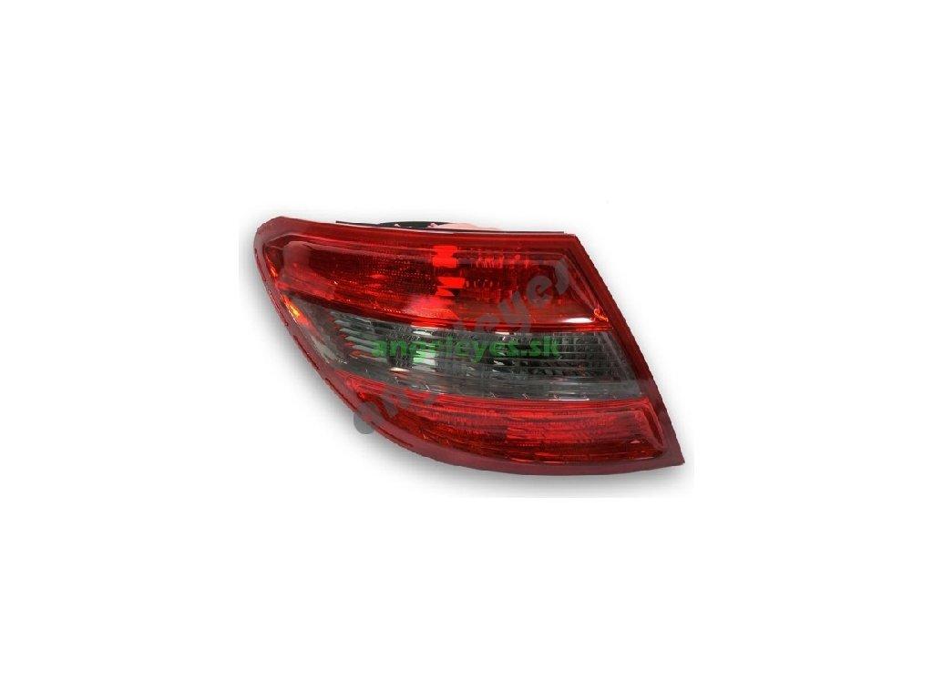 Mercedes C W204 zadné ľavé svetlo, červeno-čierne, od rv. 07