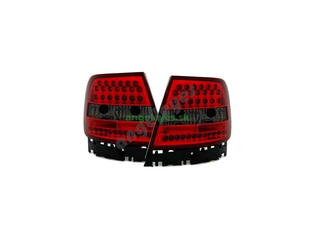 Audi A4 B5 zadné LED červeno-čierne svetlá, rv. 94-00