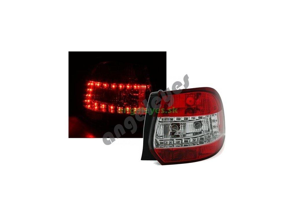 Golf 5,6 Variant LED zadné červeno biele
