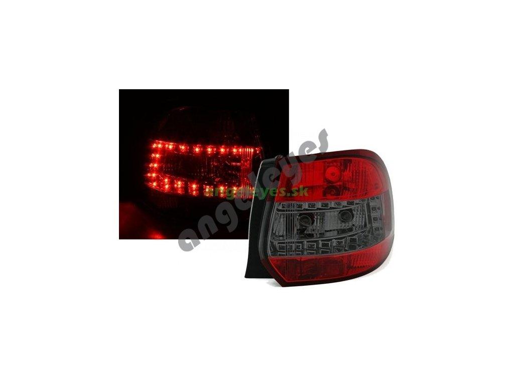 Golf 5,6 Variant LED zadné červeno čierne