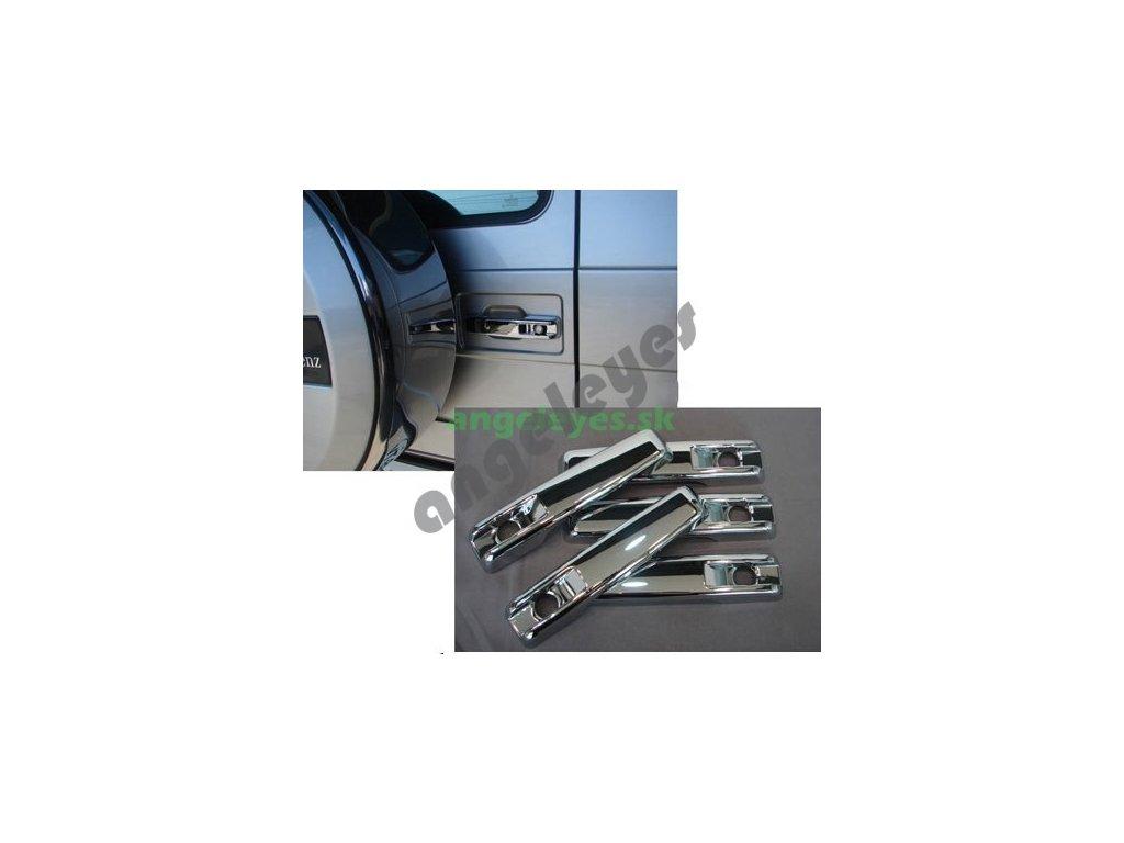 chrómové kryty kľučiek Mercedes W463