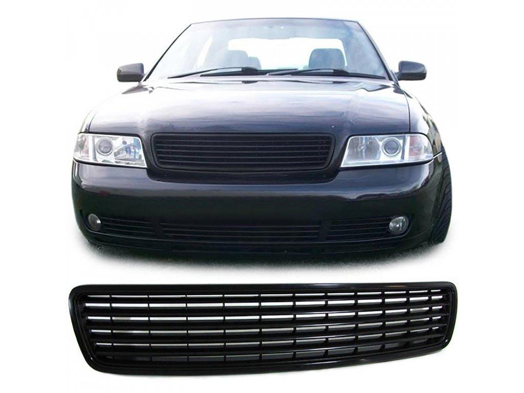 Audi A4 predná čierna maska bez znaku rv. 94-00