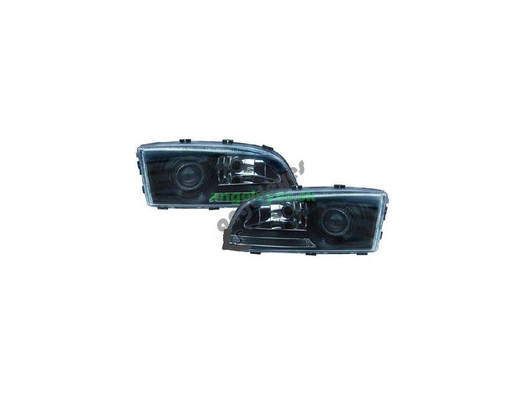 Volvo V70, S70 predné svetlá čierne