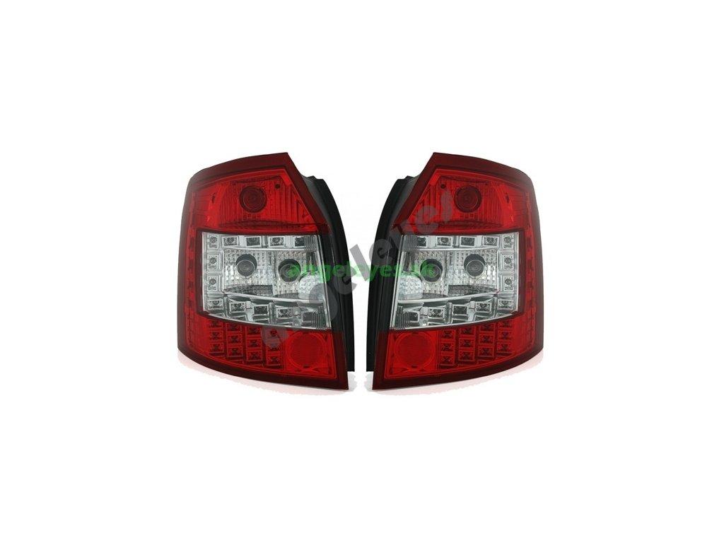A4 00-04 Avant zadné LED červeno biele