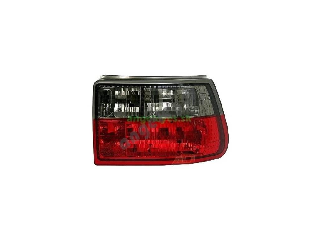 Opel Astra F 91-98 zadné čierno-červene