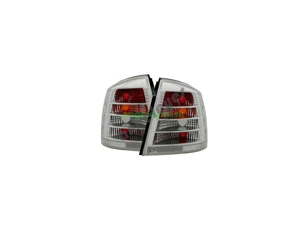 Opel Astra G zadné biele svetlá