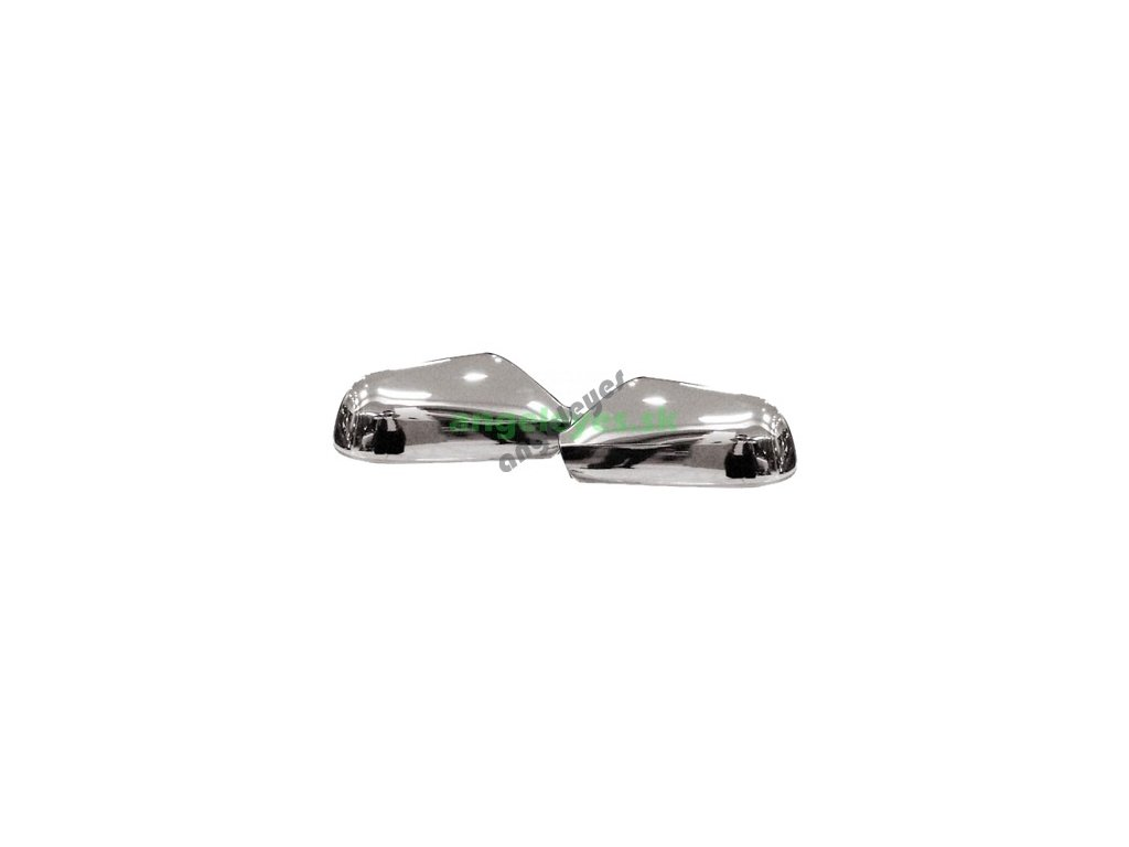 Nerezové kryty zrkadiel Opel Astra G