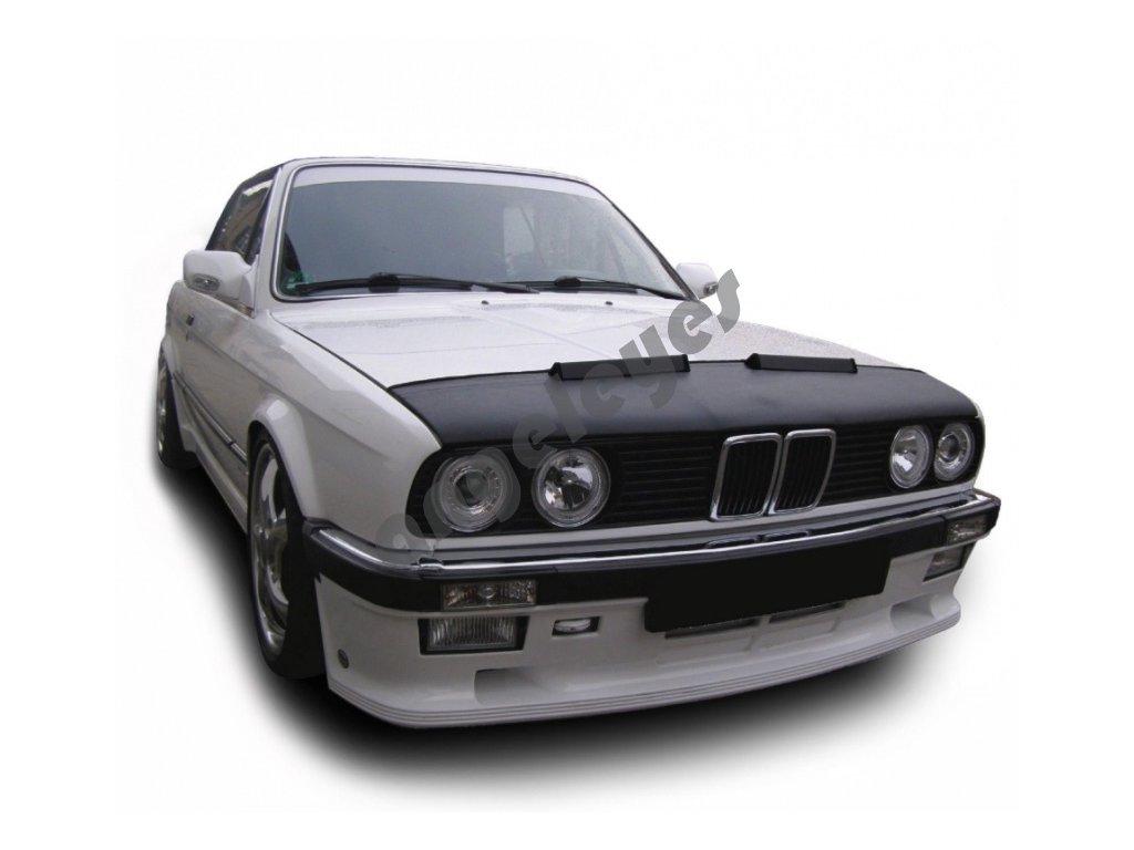 BMW E30 kožený kryt kapoty