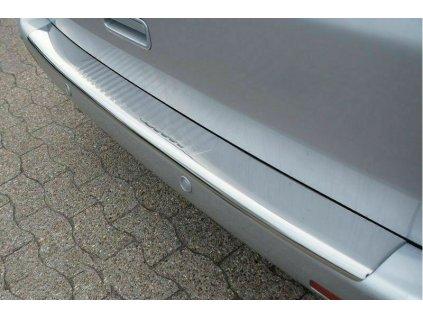 Chrómová nerezová ochranná lišta na nárazník VW T5 lesklá