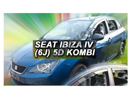 Deflektory na okná pre Seat Ibiza 6J combi rv. 2012 -, 4ks