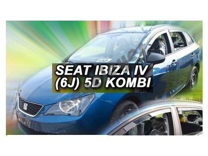 Deflektory na okná pre Seat Ibiza 6J hatchback rv. 2012 -, 2ks