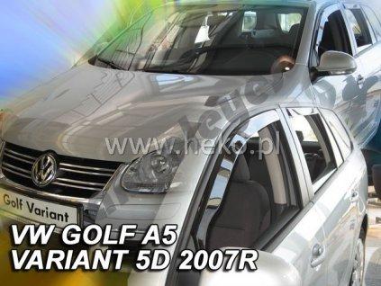 Deflektory na okná pre VW Golf 5,6 variant, 4ks