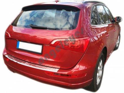 Nerezová ochranná lišta na nárazník Audi Q5 8R lesklá