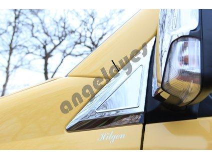 Chróm pri spätné zrkadlá VW Crafter, Mercedes Sprinter W906