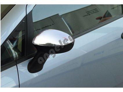 Fiat Grande Punto nerezové kryty spätných zrkadiel