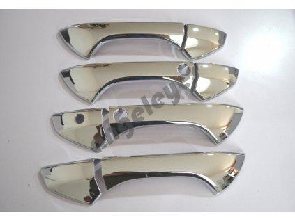Chrómové kryty kľučiek Honda Accord rv. 2008-2012