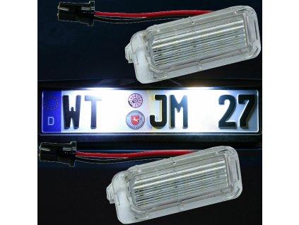 LED osvetlenie ŠPZ Ford
