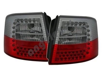 Audi A6 Avant zadné s LED červeno-čierne