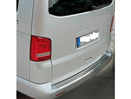 Chrómová nerezová ochranná lišta na nárazník VW T6 lesklá