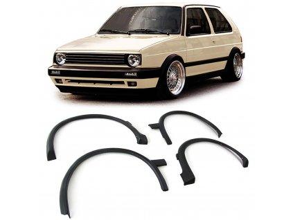 VW Golf 2 lemy blatníkov