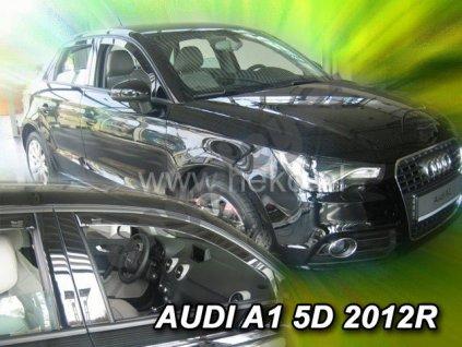 Deflektory na okná pre Audi A1, 2ks